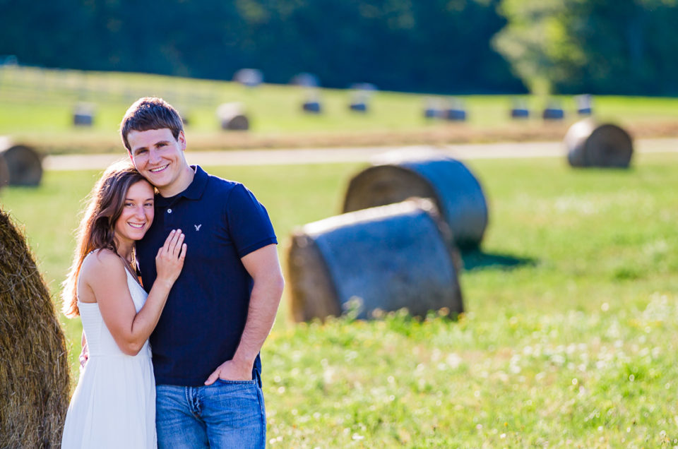 Holley & Connor's Durham, NH Engagement Session