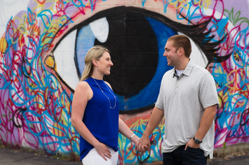 Jen & Jared's Urban and Natural Engagement Session   Keene, NH