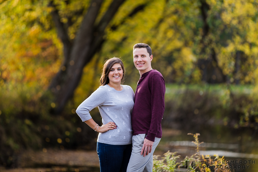Bretwood Golf Course Engagement Session by Lee Germeroth Photography