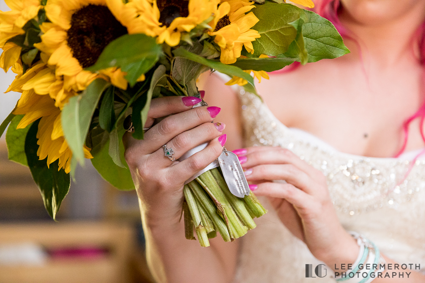 Bouquet detail -- Camp Takodah Wedding in Richmond NH by Lee Germeroth Photography