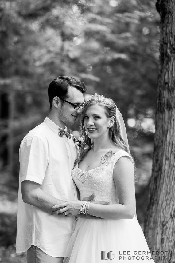Creative portraits -- Camp Takodah Wedding in Richmond NH by Lee Germeroth Photography