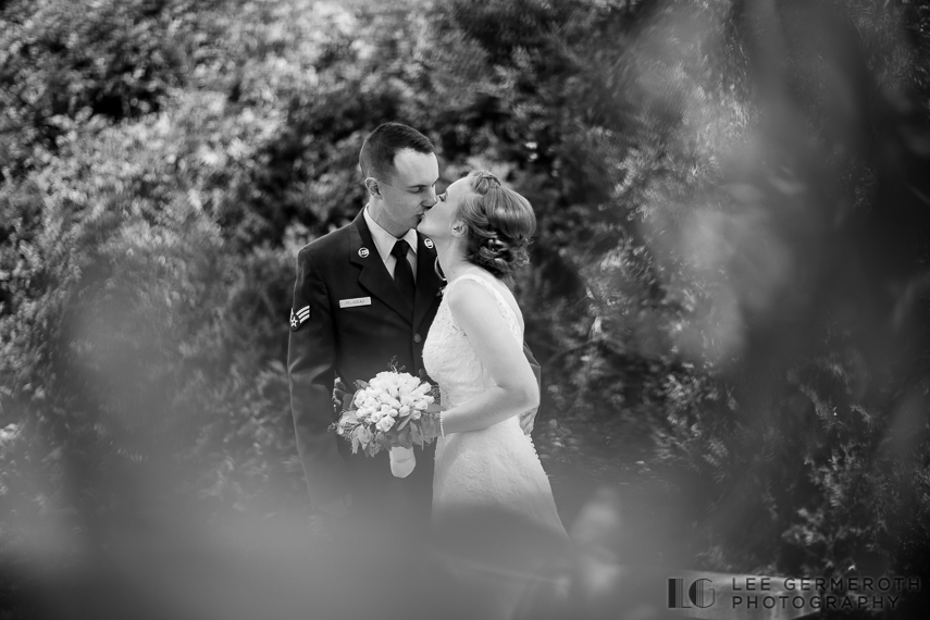 Creative Portrait -- Cathedral of the Pines Rindge NH wedding by Lee Germeroth Photography