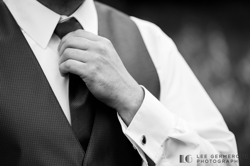 Groom Detail - Chesterfield NH Wedding Lee Germeroth Photography