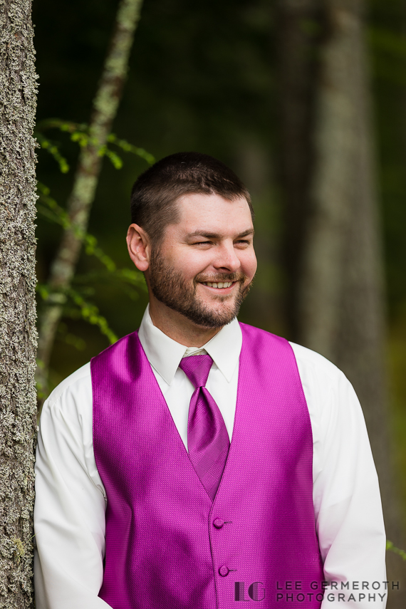 Groom portrait - Chesterfield NH Wedding Lee Germeroth Photography