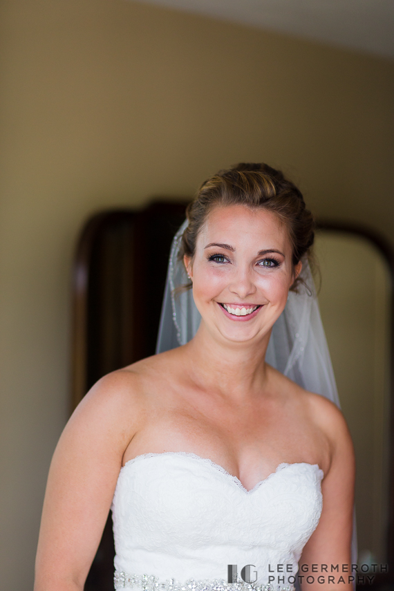 Bride portrait - Chesterfield NH Wedding Lee Germeroth Photography