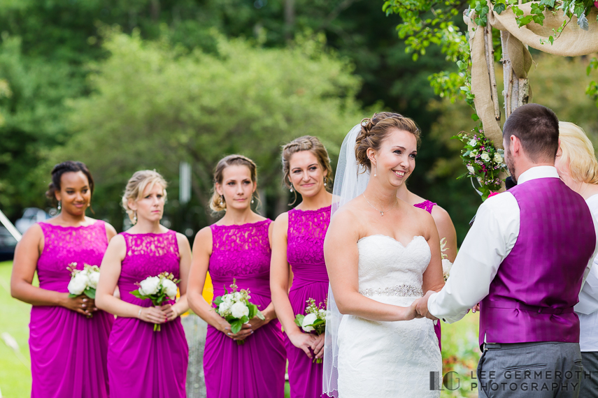 Ceremony - Chesterfield NH Wedding Lee Germeroth Photography