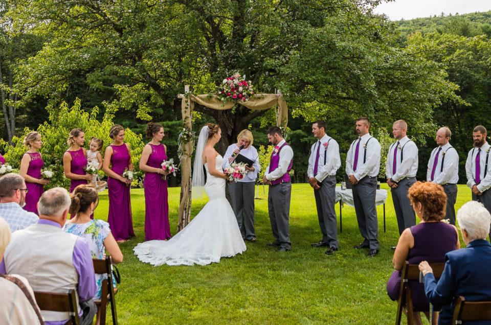 Pratt | Chesterfield NH Wedding Photography