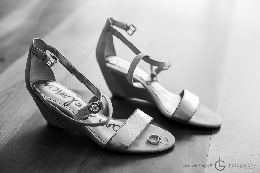 Shoes Photo Cobb Hill Wedding in Harrisville by Lee Germeroth Photography