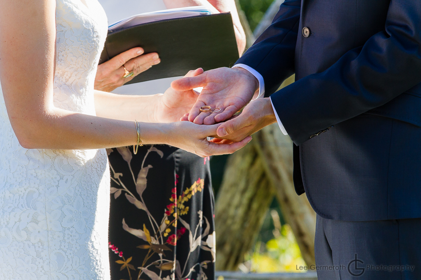 Ceremony - Cobb Hill Wedding in Harrisville by Lee Germeroth Photography