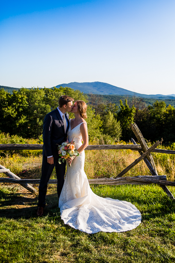Creative Portrait - Cobb Hill Wedding in Harrisville by Lee Germeroth Photography