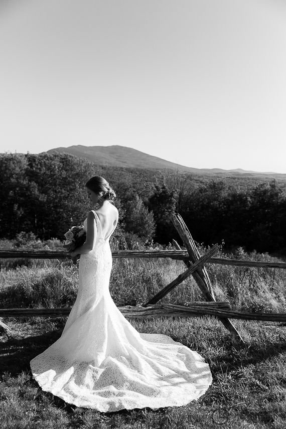 Bridal Portrait Cobb Hill Wedding in Harrisville by Lee Germeroth Photography