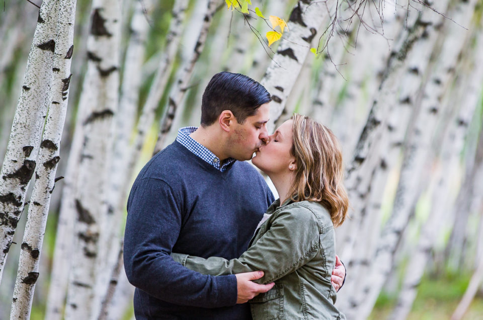 Stephanie & Ben's Downtown Keene, NH Engagement Photography