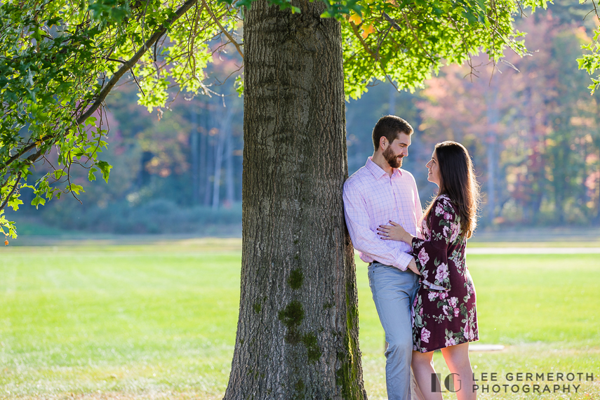 Fall Engagement Photography in New Hampshire by Lee Germeroth Photography