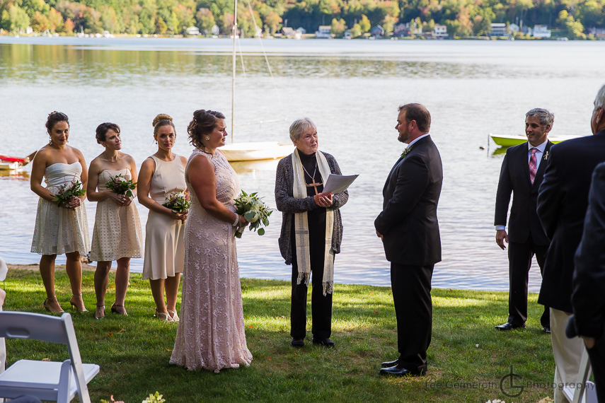 Ceremony - Granite Lake Nelson Wedding Photography by Lee Germeroth Photography