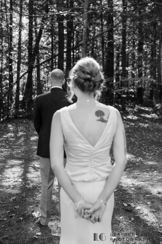 First look -- Hidden Hills Rindge NH Wedding by Lee Germeroth Photography