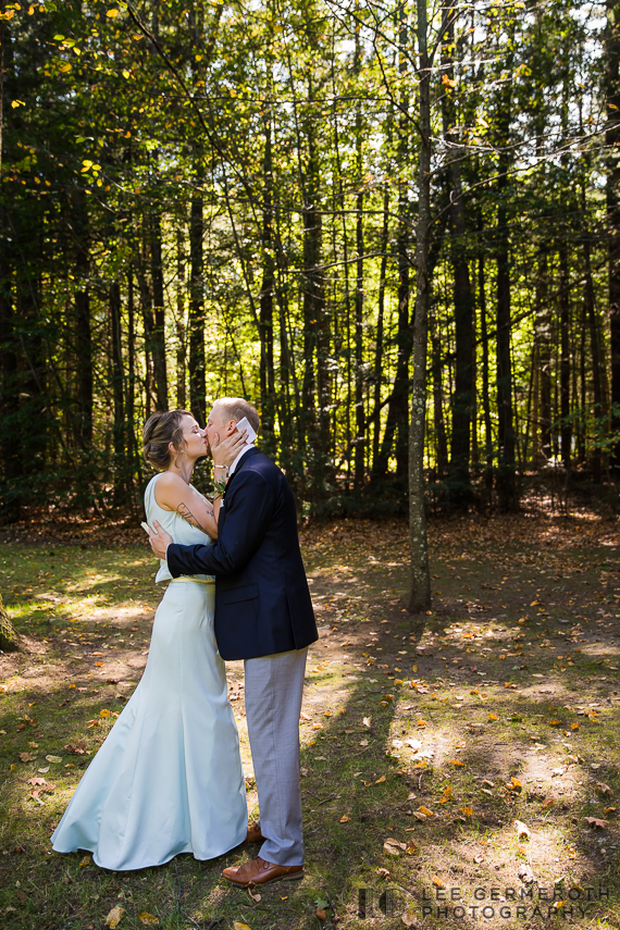 Reading of vows -- Hidden Hills Rindge NH Wedding by Lee Germeroth Photography