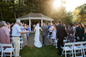 Ceremony -- Hidden Hills Rindge NH Wedding by Lee Germeroth Photography