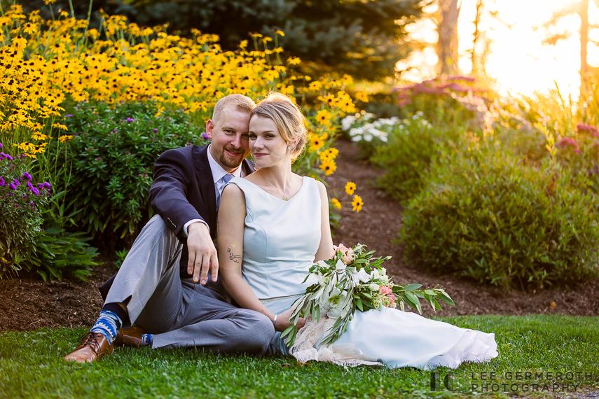 Creative portrait -- Hidden Hills Rindge NH Wedding by Lee Germeroth Photography