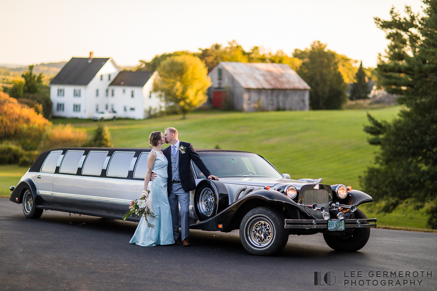 Creative portrait -- Hidden Hills Rindge NH Wedding by Lee Germeroth Photography