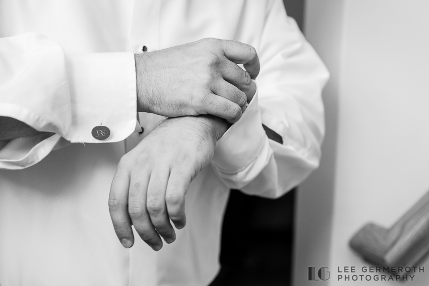 Groom Prep - Keene Country Club Wedding by Lee Germeroth Photography