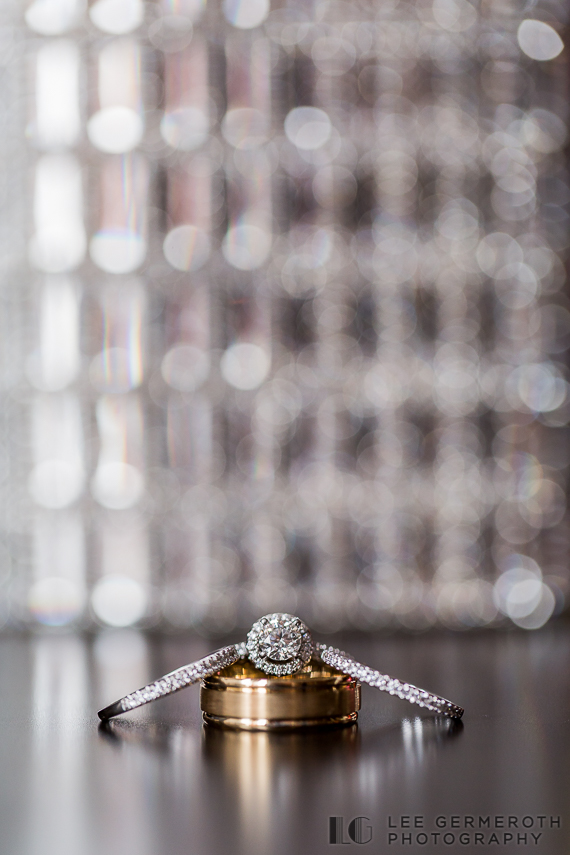 Ring Detail - Keene Country Club Wedding by Lee Germeroth Photography