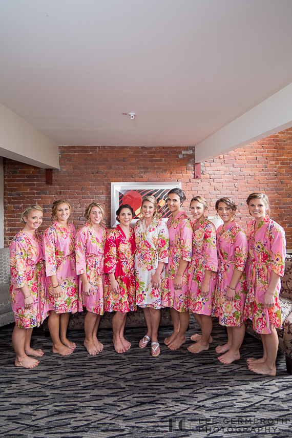 Bridesmaids - Keene Country Club Wedding by Lee Germeroth Photography