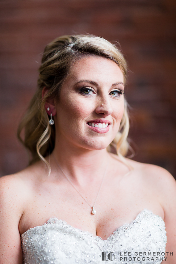 Bridal portrait - Keene Country Club Wedding by Lee Germeroth Photography
