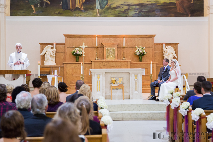 Ceremony - Keene Country Club Wedding by Lee Germeroth Photography