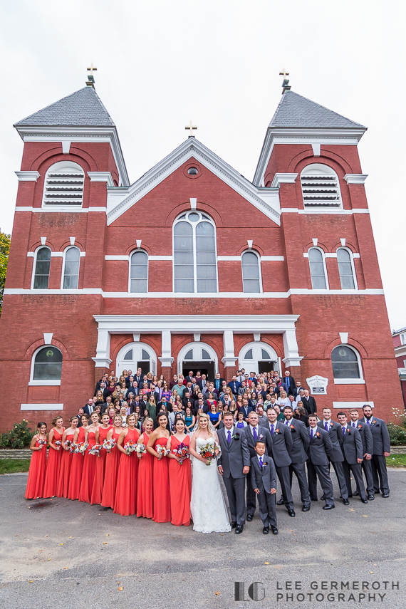 Wedding group photo - Keene Country Club Wedding by Lee Germeroth Photography