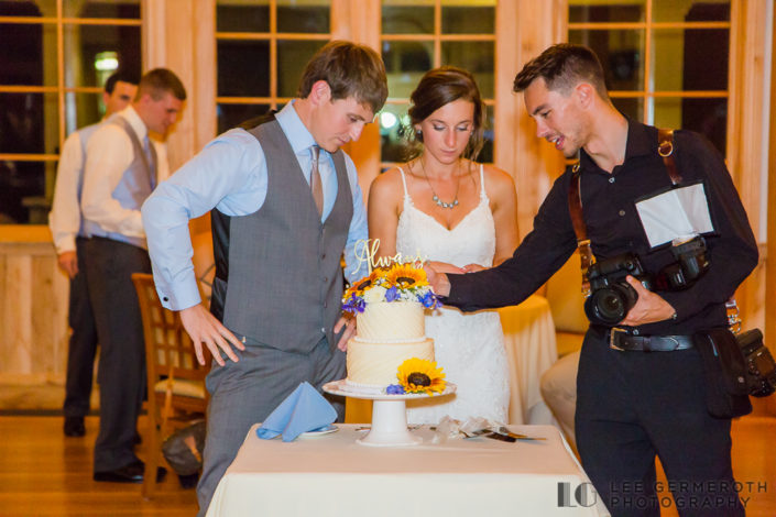 Behind the scenes of wedding photographer Lee Germeroth Photography