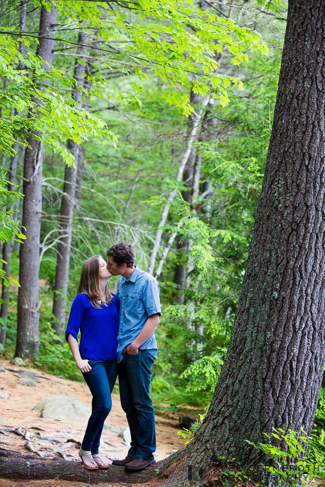New Hampshire Engagement Photography