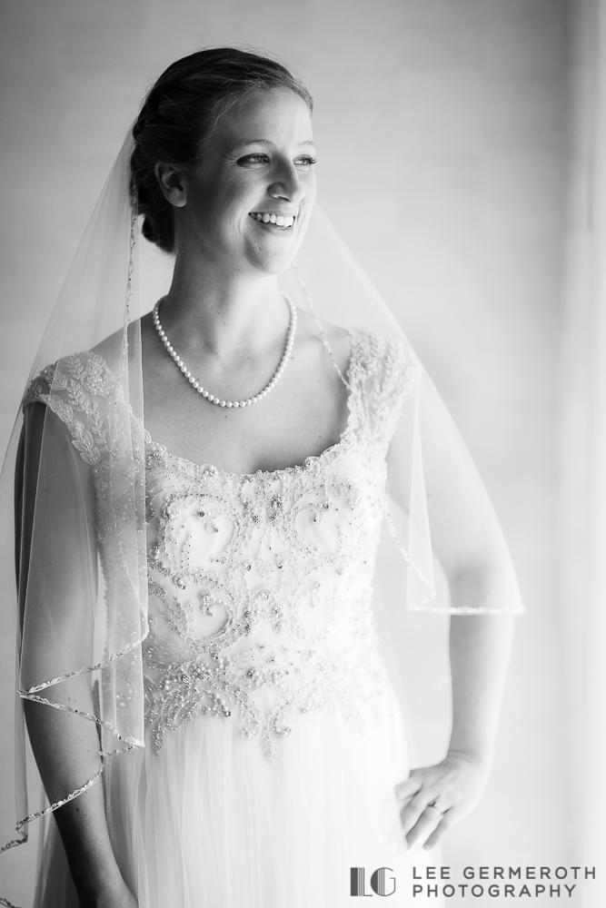 Bridal Portrait - Shattuck Wedding Photography in Jaffrey, NH by Lee Germeroth Photography