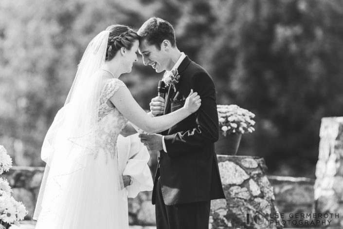 Ceremony - Shattuck Wedding Photography in Jaffrey, NH by Lee Germeroth Photography