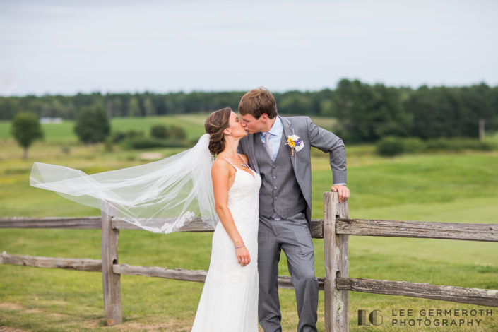 Red Barn at Outlook Farm in South Berwick Wedding Photography by Lee Germeroth Photography