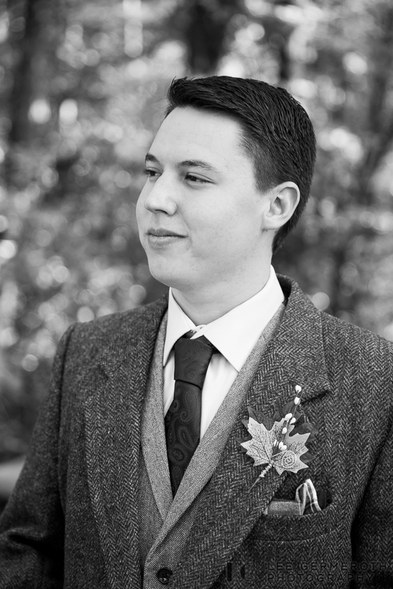 Groom portrait -- Londonderry Wedding Photography by Lee Germeroth Photography