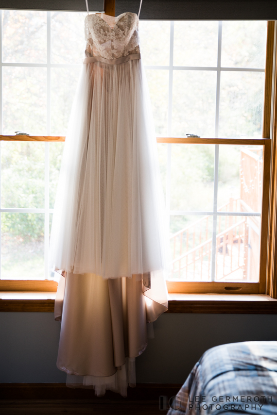 Bride's dress -- Londonderry Wedding Photography by Lee Germeroth Photography