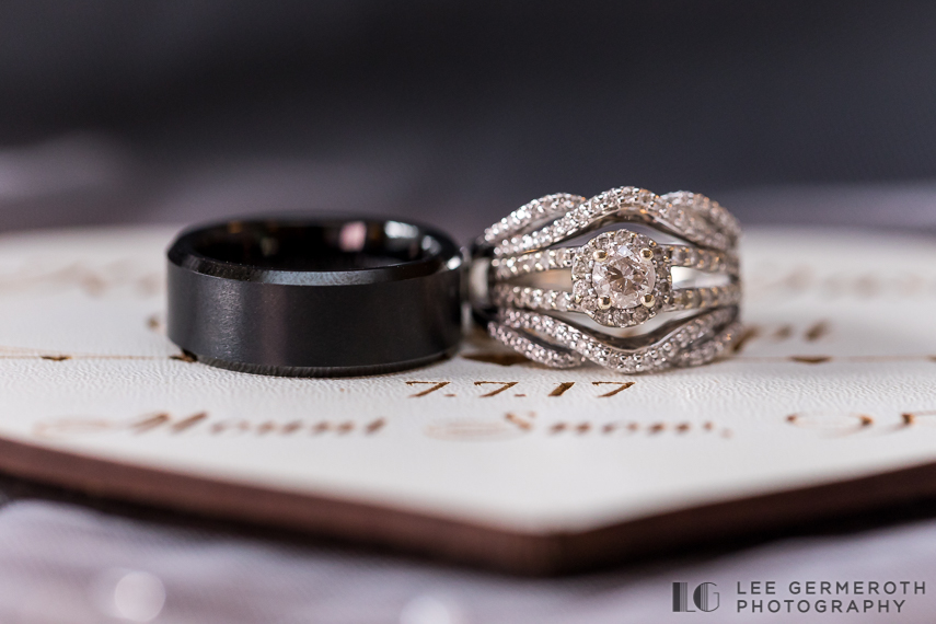 Ring detial -- Mount Snow Grand Summit Resort Wedding by Lee Germeroth Photography