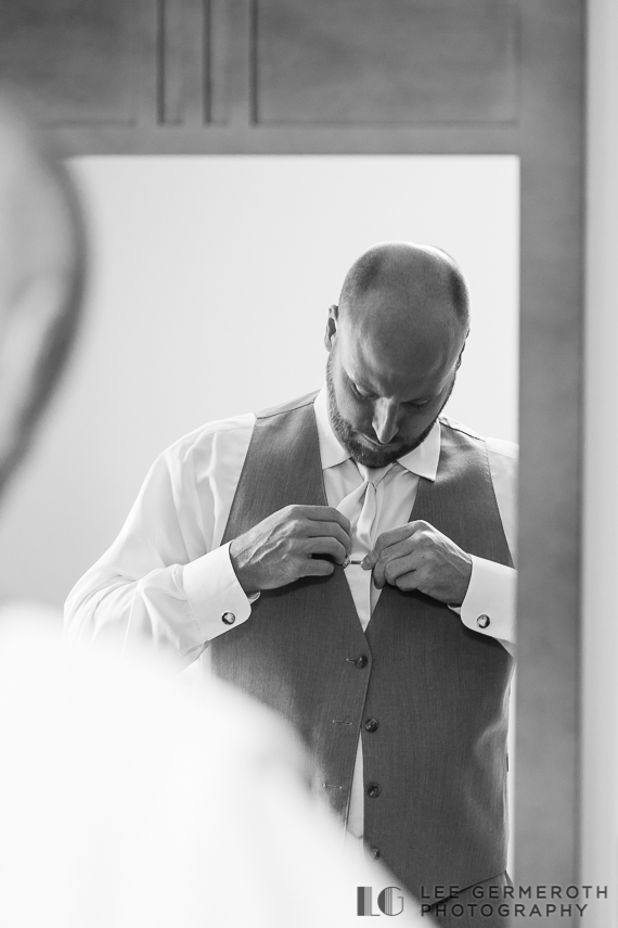 Groom prep -- Mount Snow Grand Summit Resort Wedding by Lee Germeroth Photography