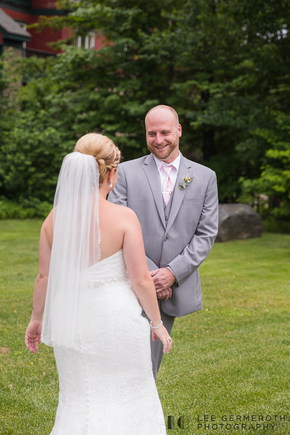 First Look -- Mount Snow Grand Summit Resort Wedding by Lee Germeroth Photography