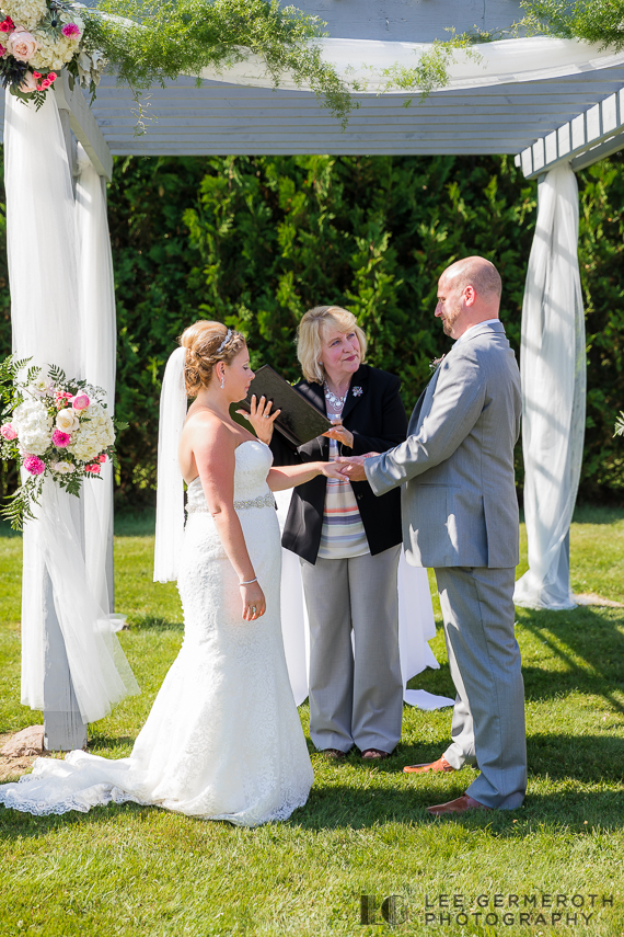 Ceremony -- Mount Snow Grand Summit Resort Wedding by Lee Germeroth Photography