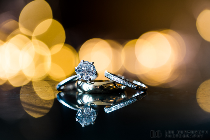 Ring Detail -- Nelson NH Luxury Wedding Lee Germeroth Photography