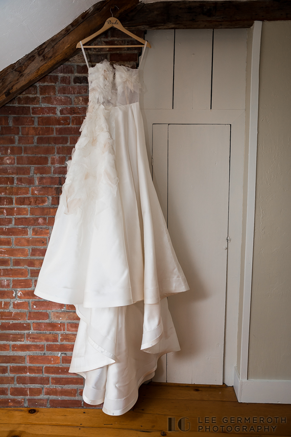 Dress Detail -- Nelson NH Luxury Wedding Lee Germeroth Photography