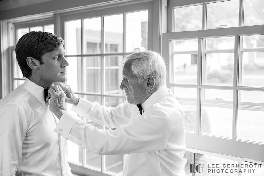 Groom prep -- Nelson NH Luxury Wedding Lee Germeroth Photography