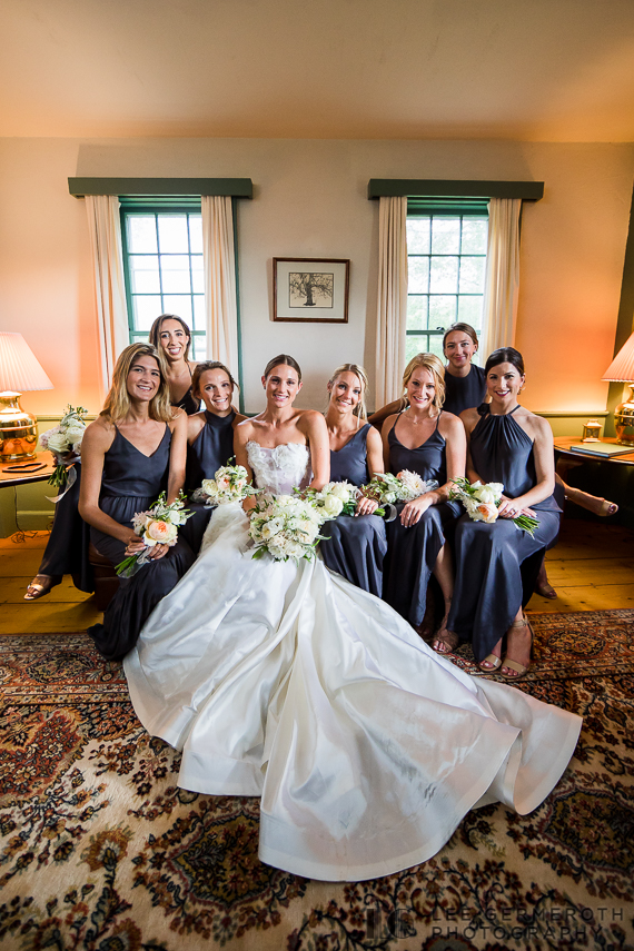 Bridesmaid portrait -- Nelson NH Luxury Wedding Lee Germeroth Photography
