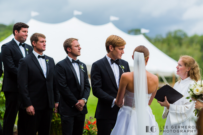 Ceremony -- Nelson NH Luxury Wedding Lee Germeroth Photography