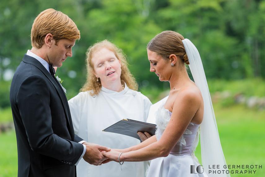 Ring exchange -- Nelson NH Luxury Wedding Lee Germeroth Photography