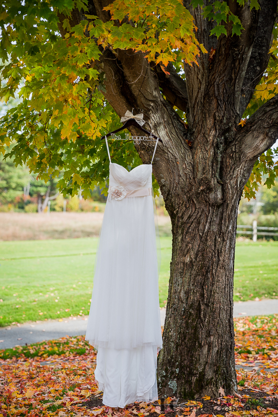 Dress Detail - New Hampshire Country Club Wedding by Lee Germeroth Photography