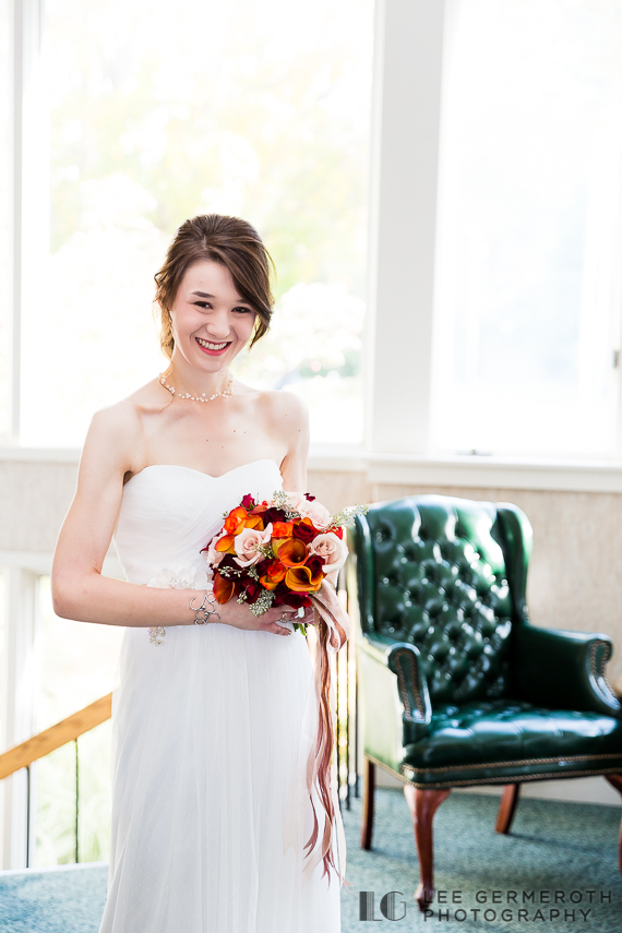 Bridal Portrait - New Hampshire Country Club Wedding by Lee Germeroth Photography