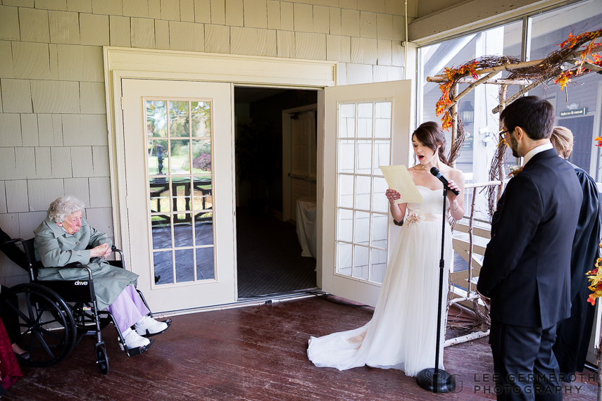 Reading - New Hampshire Country Club Wedding by Lee Germeroth Photography