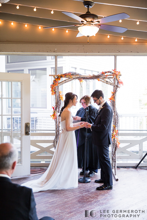 Ceremony - New Hampshire Country Club Wedding by Lee Germeroth Photography